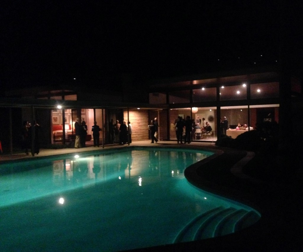 Frank Sinatra's house and 100th birthday celebration at Modernism Week, Palm Springs. Photo by Michael Ruvo.