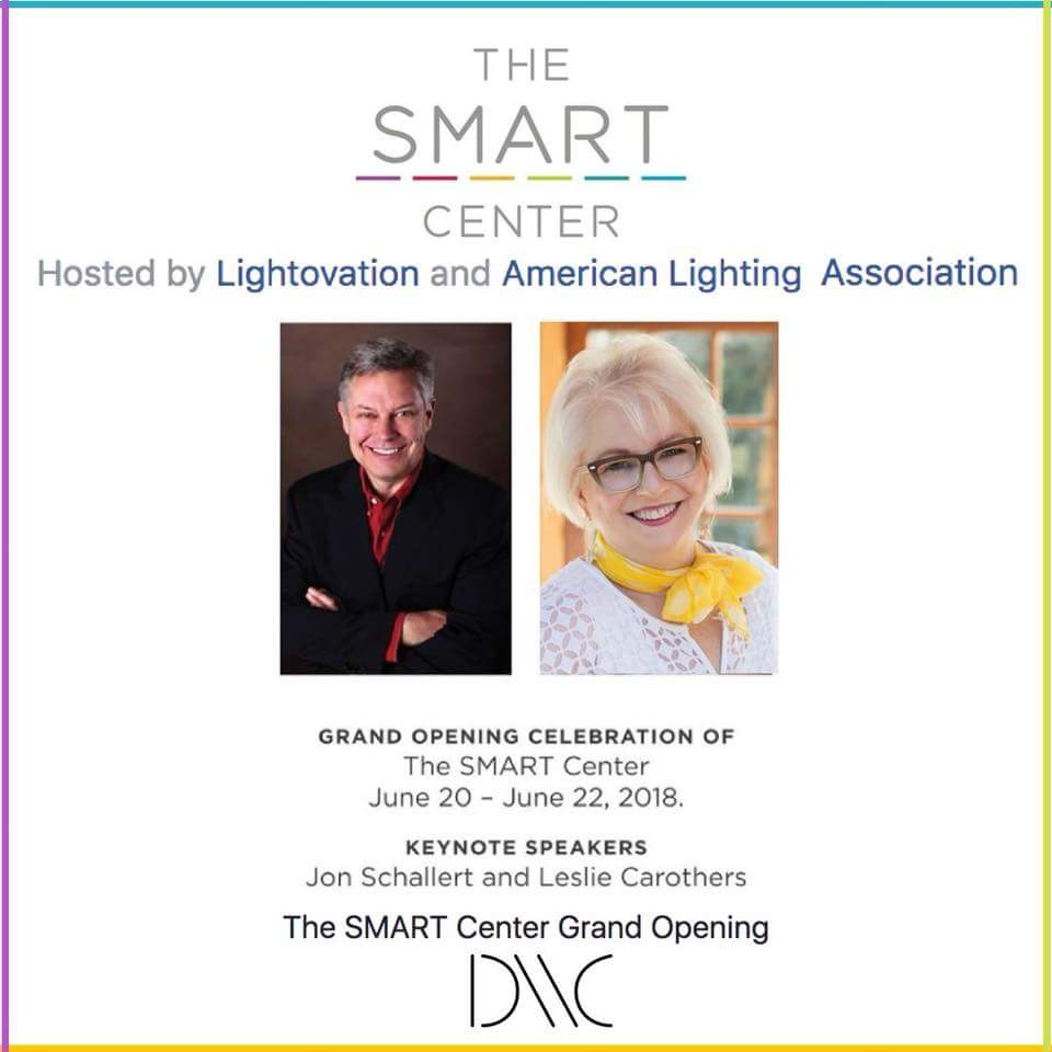 Leslie Carothers Smart Center Grand Opening, Lightivation