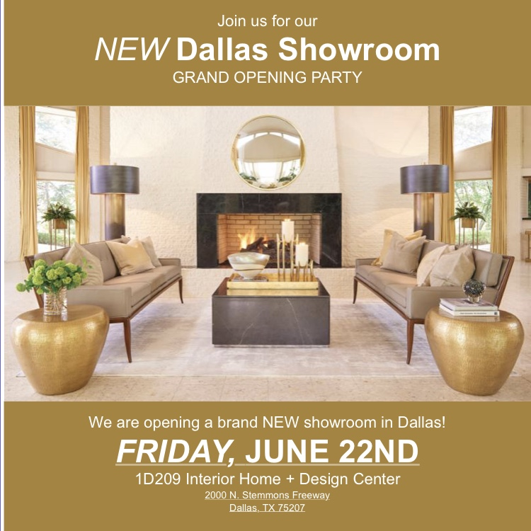Global Views Grand Opening of NEW Dallas Showroom June 22nd